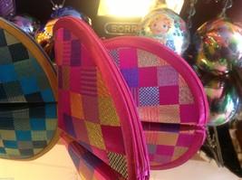 Ladies petite clutch set 2 w satin pattern fan nesting perfect 4 luncheons image 6