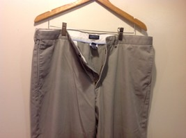 Lands End Men's Gray Dress Slacks Traditional Fit image 5
