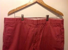 Lands End Red Casual Slacks Pants Mens image 2