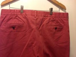 Lands End Red Casual Slacks Pants Mens image 3