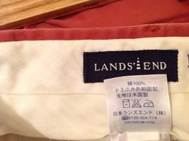 Lands End Red Casual Slacks Pants Mens image 5