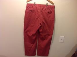 Lands End Red Casual Slacks Pants Mens image 4