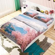 3D Mount Fuji 14 Bed Pillowcases Quilt Duvet Cover Set Single Queen King Size AU - $90.04+