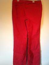 Lands End Red Corduroy Pants 2 Front Pockets 2 Back Pockets Size 10 image 6