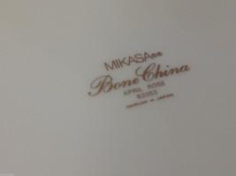 Mikasa bone china serving cake plate April Rose Narumi made in Japan image 2