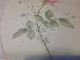 Mikasa bone china serving cake plate April Rose Narumi made in Japan image 5