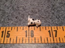 Miniature small hand blown glass dalmatian puppy made USA NIB image 7