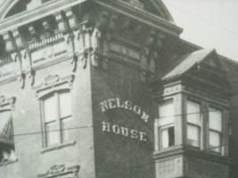 Large Framed Reproduction of Photo of Nelson House Hotel Poughkeepsie NY image 3