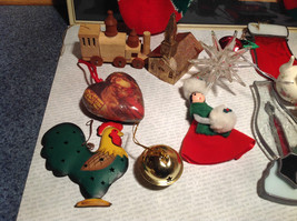 Large Grandma Instant Christmas Lot Two Stockings Many Ornaments AS SHOWN image 5