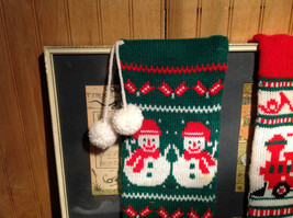 Large Grandma Instant Christmas Lot Two Stockings Many Ornaments AS SHOWN image 9