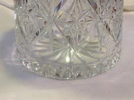 Large Lead  Crystal vase vintage American Brilliant image 6