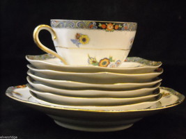 Mixed lot of China pieces from Japan and Czechoslovakia Noritake image 6
