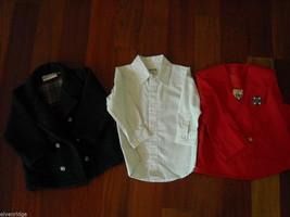 Mixed lot 16 Toddler Boys Clothes Shirts Jacket Pants Hats Shoes Toys 0-3m 3-4T image 5