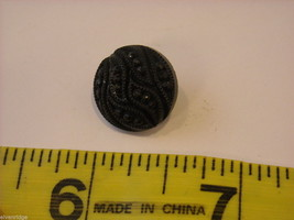 Mixed lot of black vintage buttons anchor octagonal and more image 6