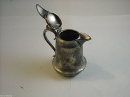 Mixed lot silverplate cake server small pitcher cream sugar set New Amsterdam image 7