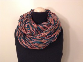 Large weave fashion INFINITY scarf w vintage look NEW in choice of colors image 2