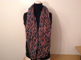 Large weave fashion INFINITY scarf w vintage look NEW in choice of colors image 3