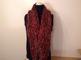 Large weave fashion INFINITY scarf w vintage look NEW in choice of colors image 9