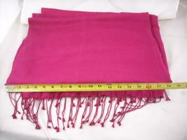 Large very Soft  Magenta Wrap image 2