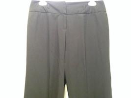 Larry Levine Petite Stretch Size 8P Black Capri Pants Excellent Condition image 3