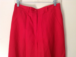 Larry Levine Sport Bright Red Pants Lining is 100 Percent Polyester image 2