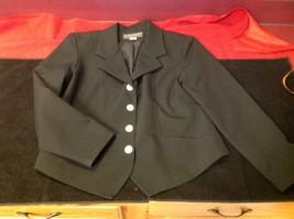 Lauren Alexandra Collection black Blazer size 10 image 2
