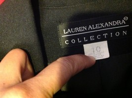 Lauren Alexandra Collection black Blazer size 10 image 5