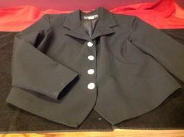 Lauren Alexandra Collection black Blazer size 10 image 3