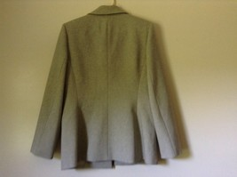Le Suit Beige Formal Jacket and Pants Suit Shoulder Pads Size 10 image 8