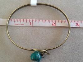 NEW bangle bracelet w Acorn Charm choice of color USA made image 6