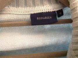 Light Blue Double Zipper Sweater 2 Pockets 100% Cotton Size Medium image 5