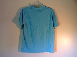 Light Blue L L Bean Size Large 14 to 16 Short Sleeve Polo Shirt image 4