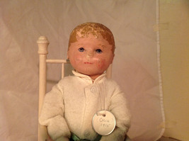 Nell Doll by Martha Chase with Perfect Size Highchair for Nell 15 Inches Tall image 3