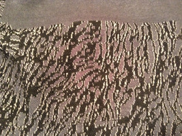 New Dark Gray and Black Wrap Shawl Duster One Size New in Package image 8