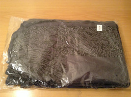 New Dark Gray and Black Wrap Shawl Duster One Size New in Package image 11