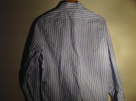 Light Blue Long Sleeve Collared Button Up Shirt by Brown Black 1826 Size Large image 5