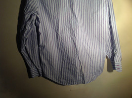 Light Blue Long Sleeve Collared Button Up Shirt by Brown Black 1826 Size Large image 6