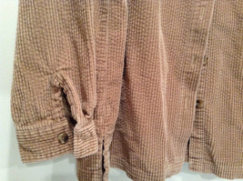 Light Brown 100 Percent Cotton Long Sleeve Button Up L L Bean Shirt Size L Reg image 2