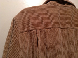 Light Brown 100 Percent Cotton Long Sleeve Button Up L L Bean Shirt Size L Reg image 5
