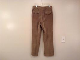 Light Brown 100 Percent Cotton L L Bean Pleated Front Casual Pants Size 34 image 2