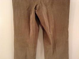 Light Brown 100 Percent Cotton L L Bean Pleated Front Casual Pants Size 34 image 6