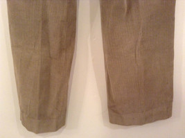 Light Brown 100 Percent Cotton L L Bean Pleated Front Casual Pants Size 34 image 7