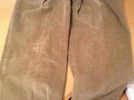 Light Brown 100 Percent Cotton L L Bean Pleated Front Casual Pants Size 34 image 8
