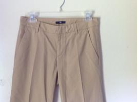Light Brown Casual Pants by GAP Size 00 Regular Front Back Pockets Belt Loops image 2