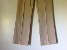 Light Brown Casual Pants by GAP Size 00 Regular Front Back Pockets Belt Loops image 3