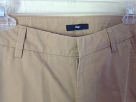 Light Brown Casual Pants by GAP Size 00 Regular Front Back Pockets Belt Loops image 4