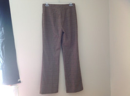 Light Brown Hounds Tooth Patterned Casual Pants 2 Pockets Armani Jeans Size 8 image 7