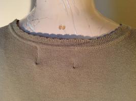 Light Green Short Sleeve Susan Graver Soft Stretchy Top Size Large image 8