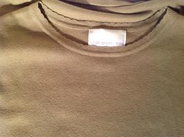 Light Green Short Sleeve Susan Graver Soft Stretchy Top Size Large image 10