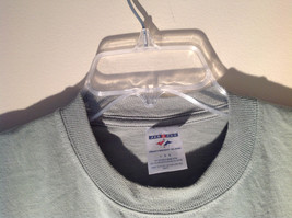 Light Green Jerzees Short Sleeve Graphic T-Shirt Sponsor USMA 5K 10K Size Large image 3